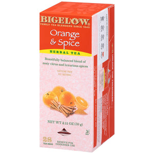 Load image into Gallery viewer, Bigelow Orange Spice 28 CT