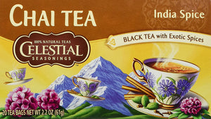 Load image into Gallery viewer, GMCR Celestial Tea K CUP India Spice 24 CT