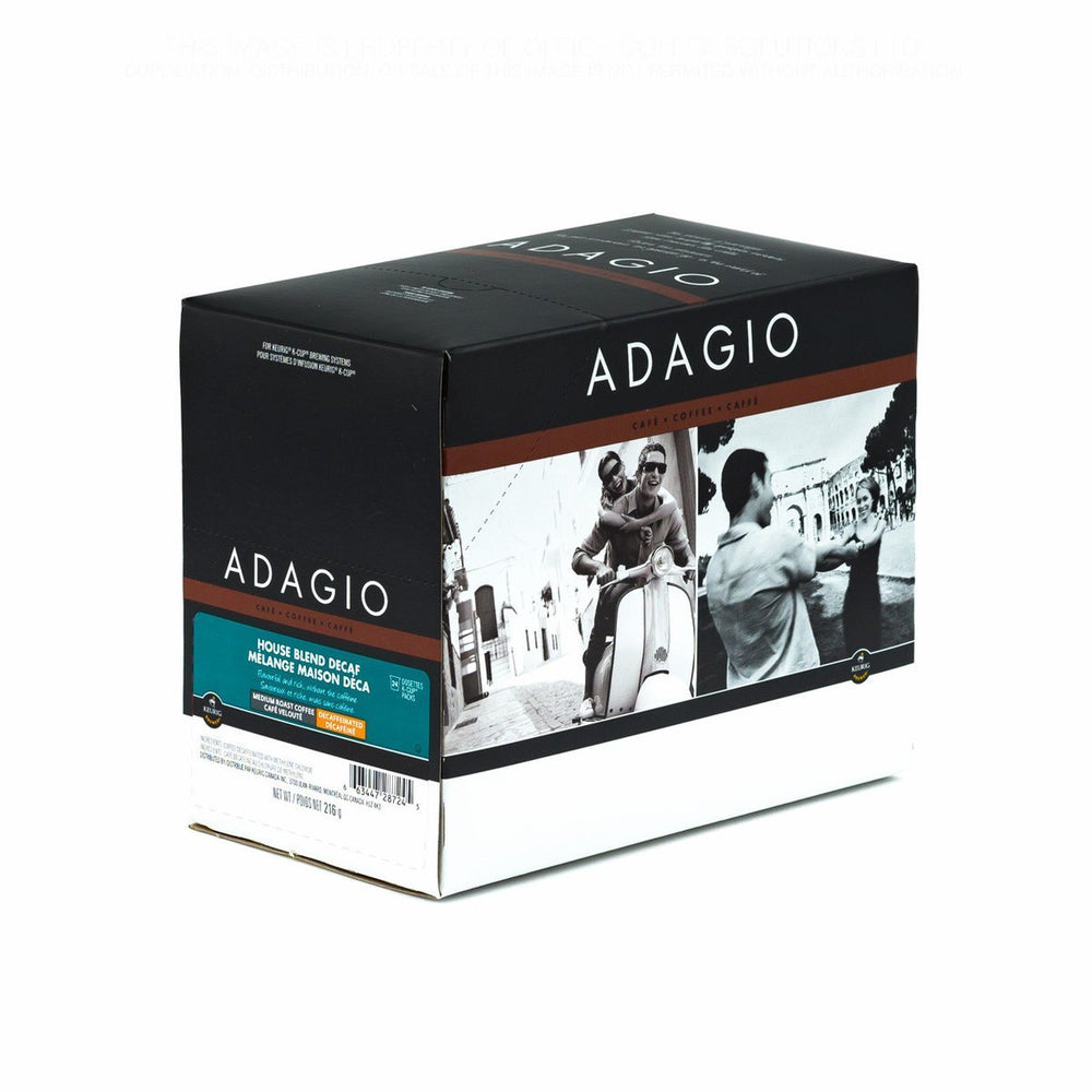 Adagio K CUP House Blend Decaf 24 CT