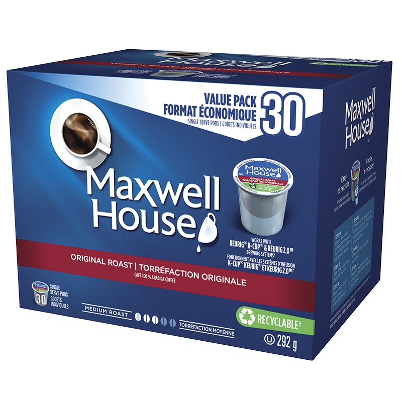 Load image into Gallery viewer, Nabob Maxwell House 30 CT