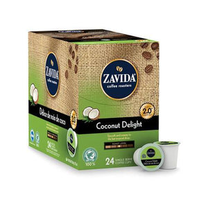 Zavida Z Cups Coconut Delight 24 CT