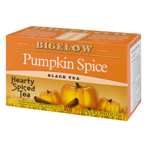 Load image into Gallery viewer, Bigelow Pumpkin Spice 20 CT