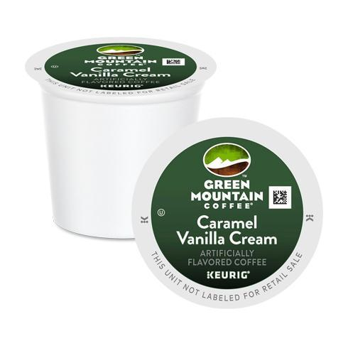 GMCR K CUP Flav Coffee Caramel Van Cream 24 CT