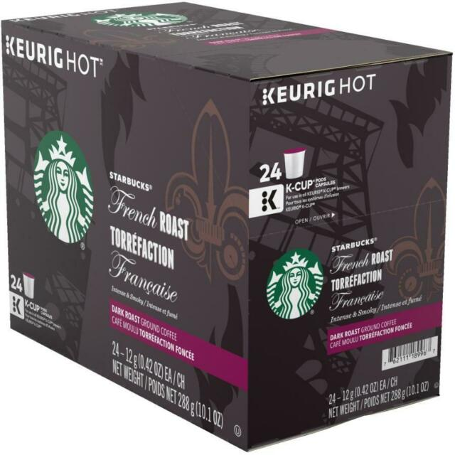 STARBUCKS K CUP (REC) French Roast 24 CT