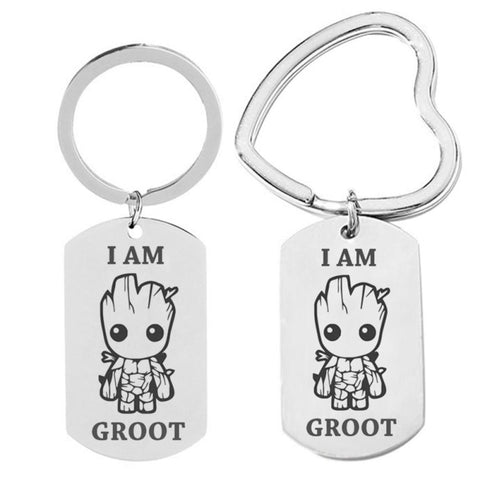 Porte Clé Badge Groot