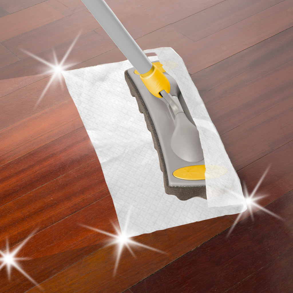 TWISTER FLOOR DUSTER WITH 10 DISPOSABLE CLOTHS AND 3 PCS HANDLE