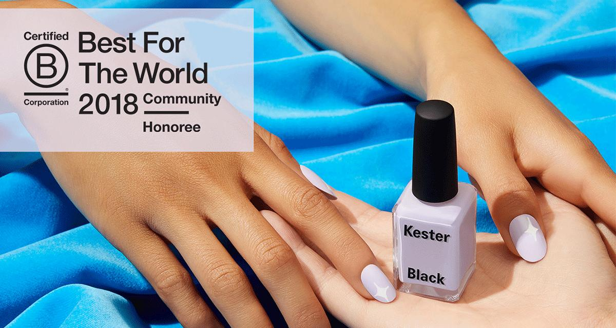 Kester Black is 'Best For The World' two years running!