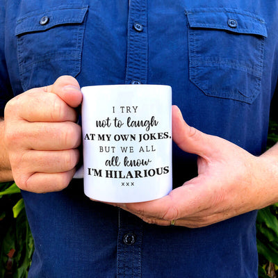 Hilarious Jokes Mug