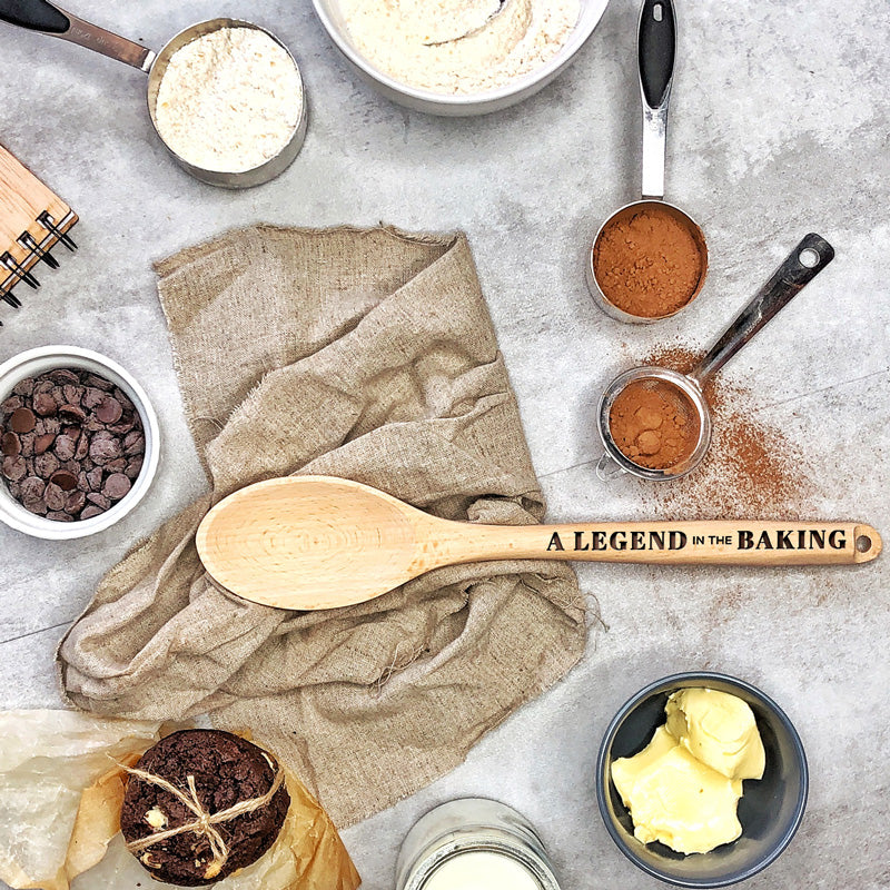 A legend in the baking - Beechwood Spoon
