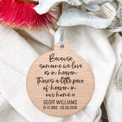 Personalised-Ornament,-Wooden,-Modern,-Someone-we-love,-Memorial-Ornament,-Engraved-Perth-WA