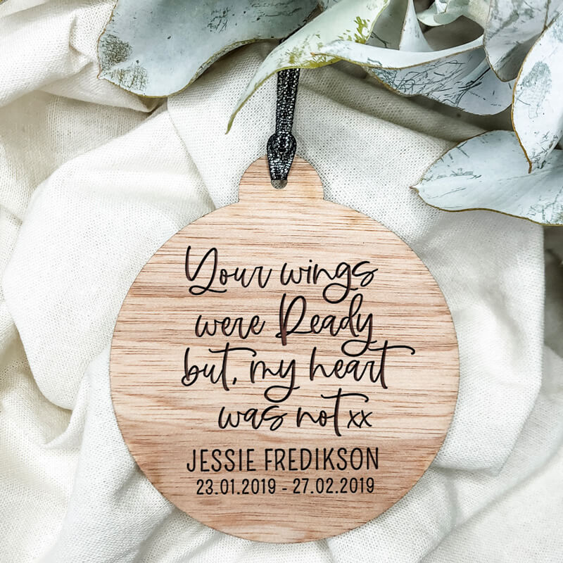 Your Wings Christmas Ornament | Modern