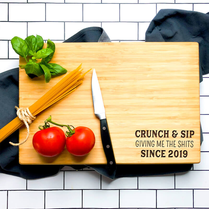 Personalised Cutting Board - The Shits