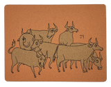 [CNY Limited Edition] Placemat Set B 2pcs - Ox by Jun-Yi