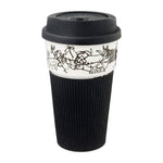 Load image into Gallery viewer, B&W Thermal Mug - Dog