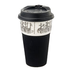 Load image into Gallery viewer, B&W Thermal Mug - Giraffe