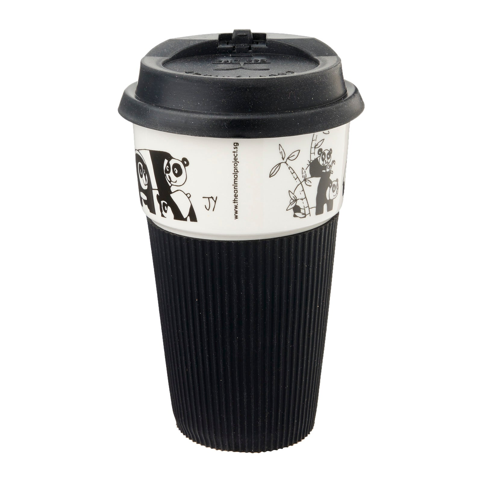 B&W Thermal Mug - Panda