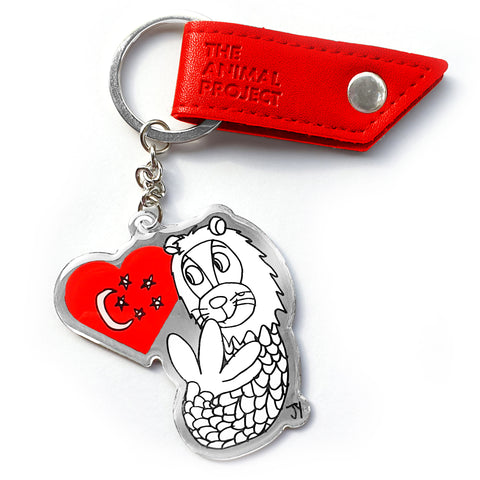 Keychain - Merlion (Limited Edition)