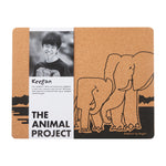 Load image into Gallery viewer, Placemat (Set of 2) - Elephant by Keegan