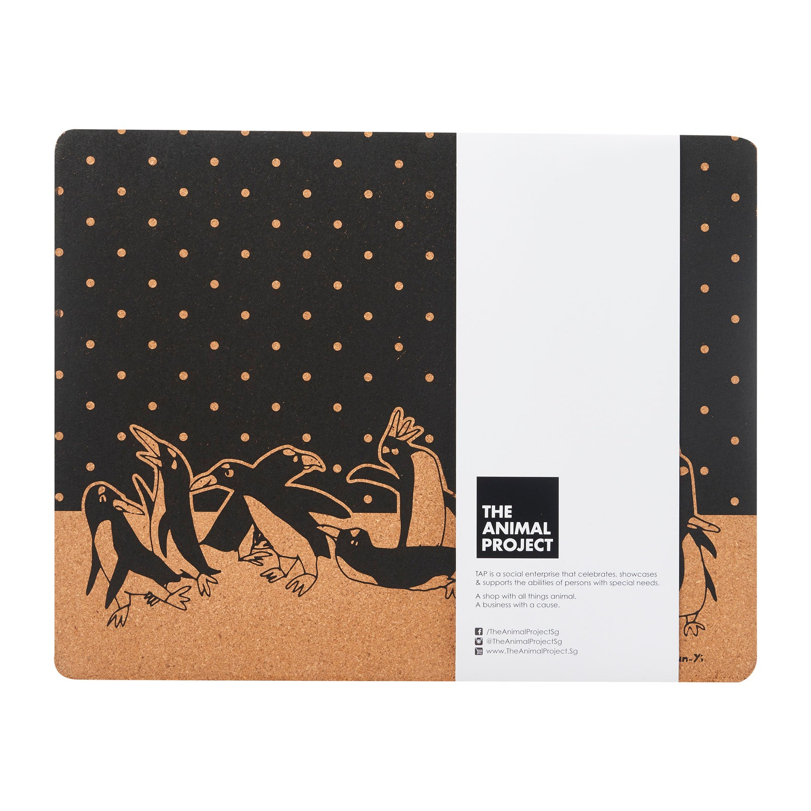 Placemat (Set of 2) - Penguin