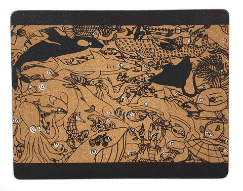 Placemat (Set of 2) - Sea Creature