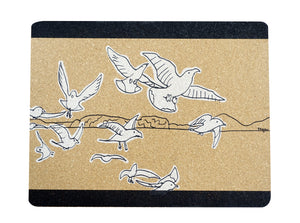 Placemat (Set of 2) -Seagull by Keegan