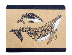 Placemat (Set of 2) - Whale by Jolie