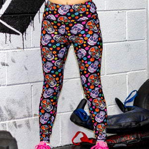 Sugar Skull Leggings