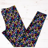 Ribbons leggings donating to the Institue of Cancer Research