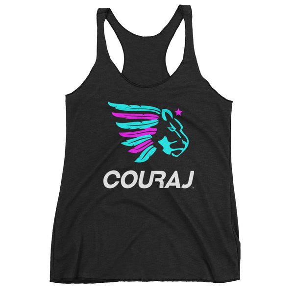 COURAJ Women's Tank | Black