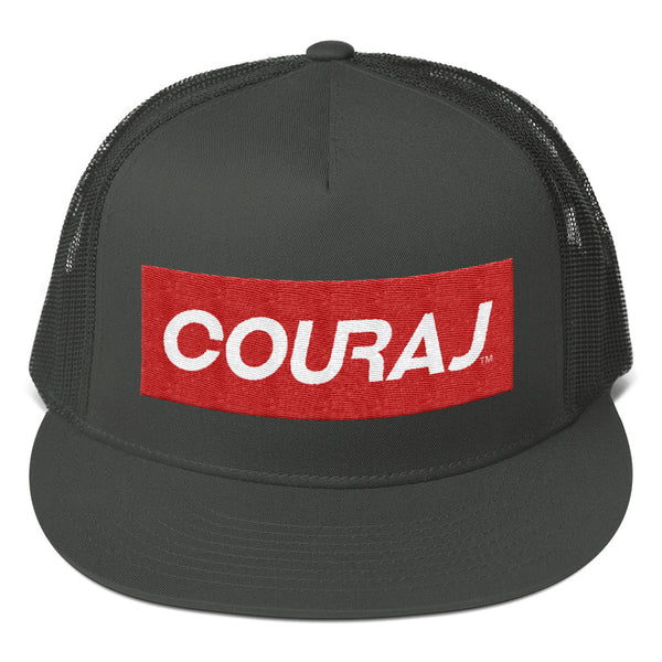 COURAJ - Mesh Back Snapback