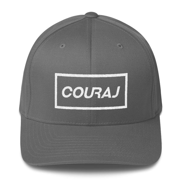 COURAJ FlexFit Hat- Grey