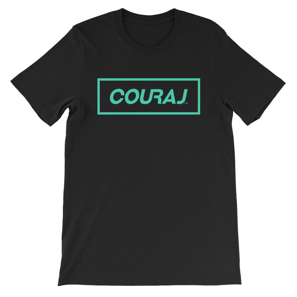 COURAJ Box Tee | Black
