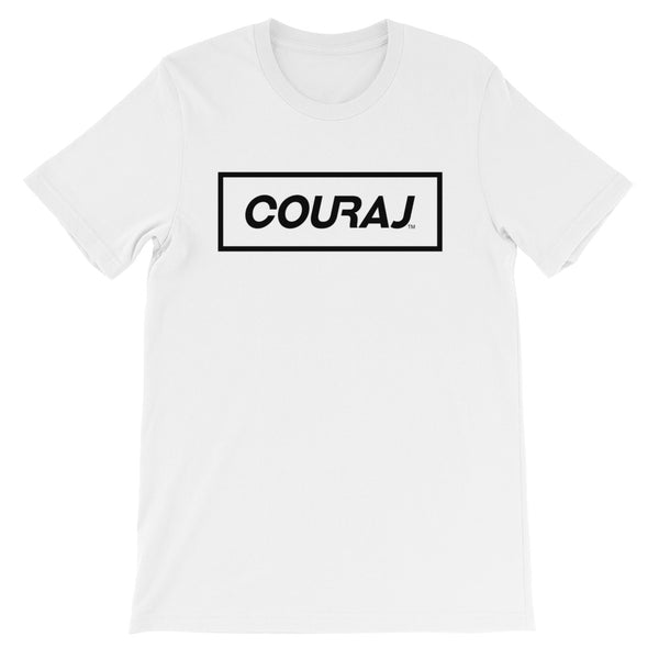 COURAJ Box Tee - White