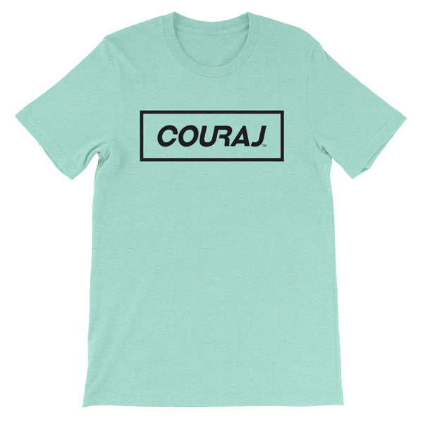 COURAJ Box Tee - Mint