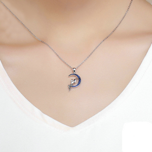 Moon Fairy Design Women's Necklace