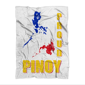Proud Pinoy Sublimation Throw Blanket