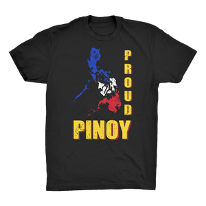 Proud Pinoy Organic Adult T-Shirt