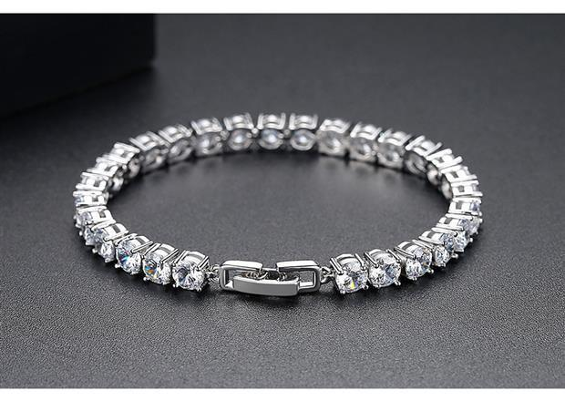 CVD Diamond Luxury Bracelet Full of Diamonds
