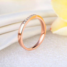 0.14ct Natural Diamonds14K Rose Gold Ring