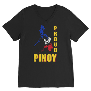 Proud Pinoy Premium V-Neck T-Shirt