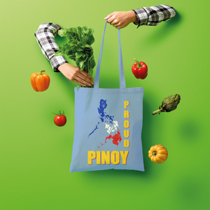 Proud Pinoy Shopper Tote Bag