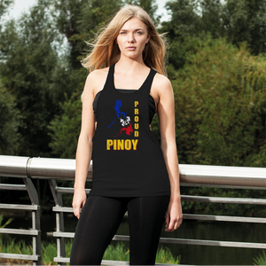 Proud Pinoy Women's Loose Racerback Tank Top