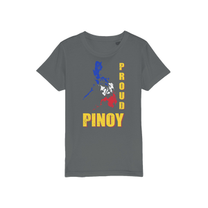 Proud Pinoy Organic Jersey Kids T-Shirt