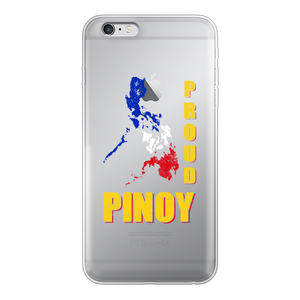 Proud Pinoy Back Printed Transparent Hard Phone Case