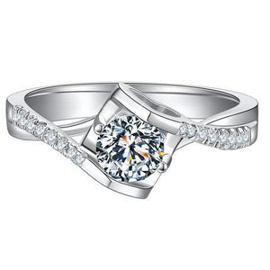 CVD Diamond Angel Kiss Ring