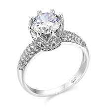 1.5ct Round Cut Stunning CZ Solid 925 Sterling Silver Ring