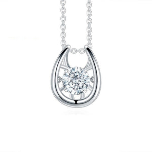 1Ct Twinkle Moissanite Diamond Pendant