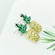 CVD DIAMOND Pineapple Earrings