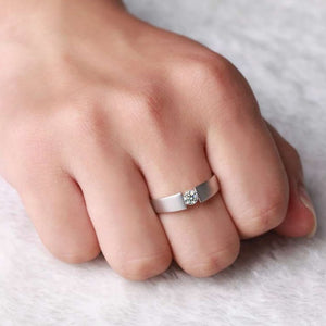 CVD Diamond Ring Simple Design