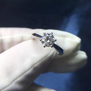 CVD Diamond Six Setting Ring